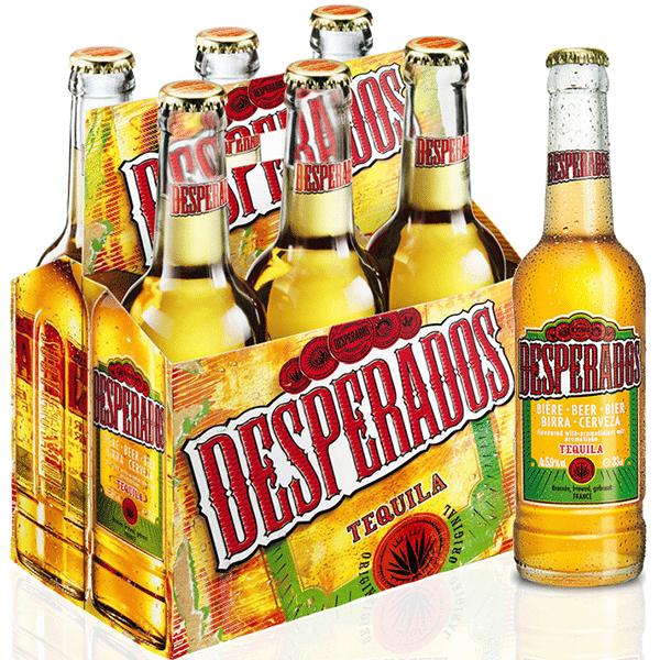 Desperados Tequila Beer 6x330ml Gobeba